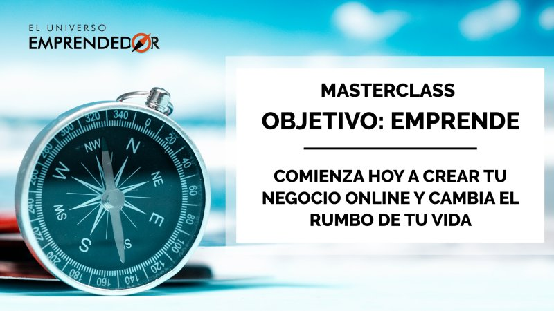 Masterclass emprendimiento digital
